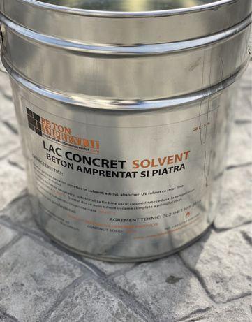 Lac beton amprentat/lac beton colorat/Imp/lac solvent trafalet bonus