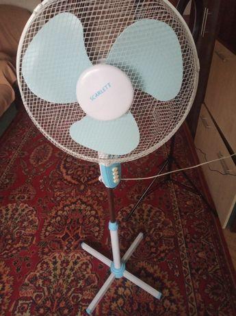 Вентилятор на стройке