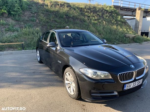 BMW Seria 5 Vand BMW 525 xDrive, diesel, 07.2014, limuzina, negru