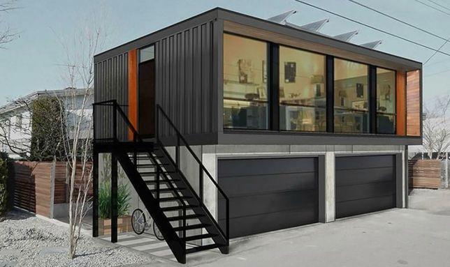Vand/confecționează case modulare stil casa locuibile  din container