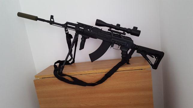 "Pusca airsoft AK47 ""sniper rifle"""