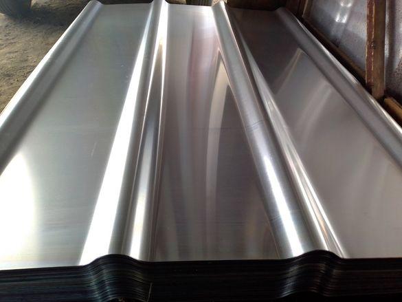 Покривна ламарина с покритие - производство