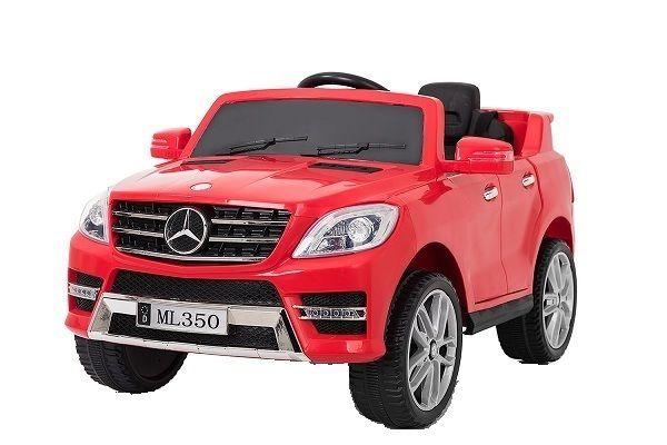 Masinuta electrica Kinderauto Mercedes ML350 2x25W STANDARD 12V #Rosu Piatra Neamt - imagine 1
