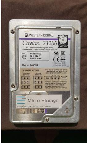 RAR Western Digital AC23200-00LC Caviar 3249.3MB IDE - HDD de COLECTIE