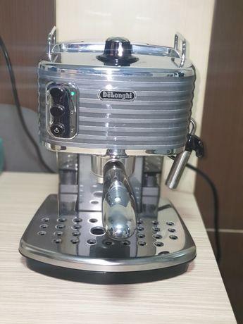 Espressor manual De'Longhi Scultura ECZ 351, 1100 W, 15 Bar, Cappuccin