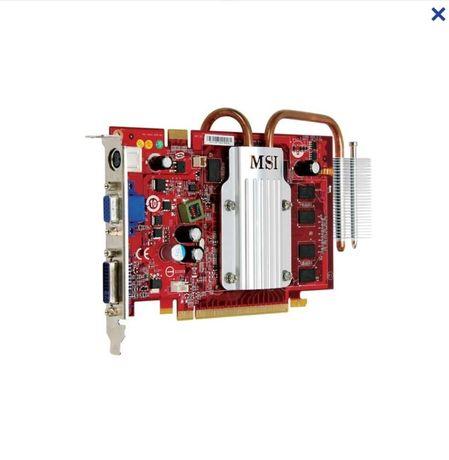 Продам видеокарту MSI GeForce 8600 GT 1 GB GDDR2