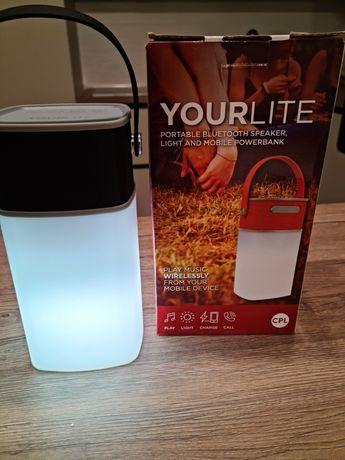 Boxa portabilă Bluetooth+lumina