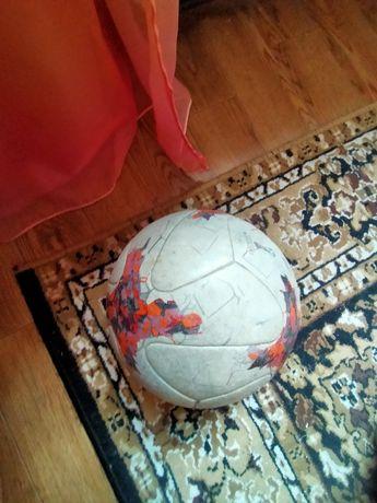 Продам кожаный мяч