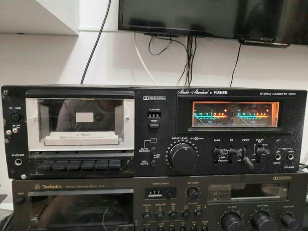 Fisher CR4130 stereo cassette deck