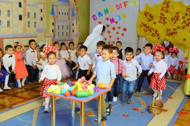 Принимаем детишек в детский сад.