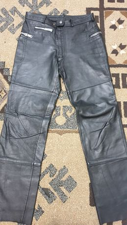 Pantaloni piele naturala barbati 54