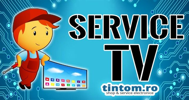 Service Smart TV Reparatii Televizor Fara lumina dar cu Sunet Display