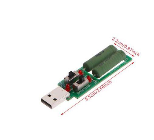 Tester, consumator USB 1A - 3A