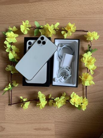 Iphone 11 Pro silver 64gb. Аккум: 81%