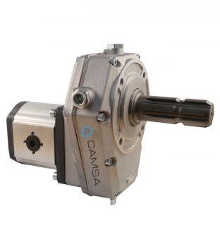 Pompa hidraulica despicator pe priza de putere