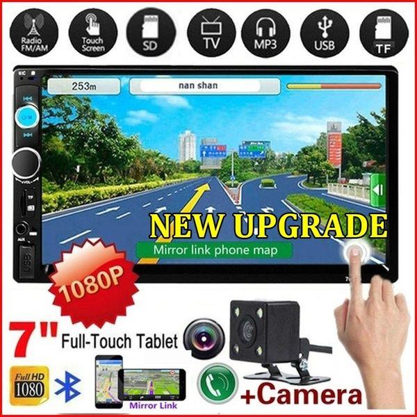Мултимедия 2DIN за кола Touch Screen радио USB SD bluetooth гр. Пловдив - image 1