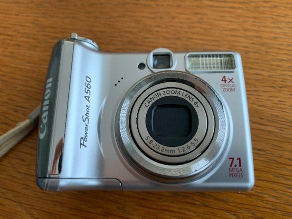 Продавам Цифров фотоапарат Canon Power Shot A560