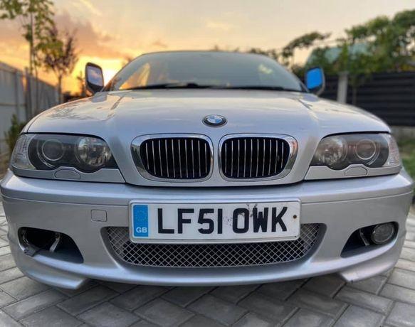 Dezmembrez BMW 330ci E46 CABRIO M Tech 2,Recaro negru,Navi,Oglinzi