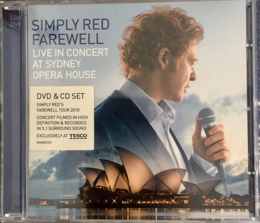 Simply Red - Farewell, Live at Sydney Opera House (dvd)