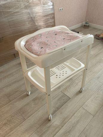 Пеленальный столик с ванночкой Pali Prestige beauty