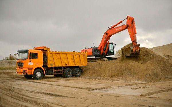 Грунт,песок,щебень,доставка. Самосвал китаец(18кубов) город Костанай