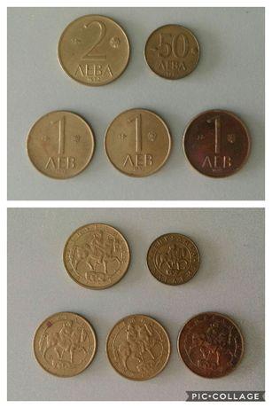 Стари левове монети