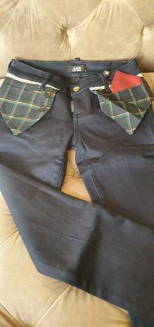 Pantaloni Amnesia cu elastan birou