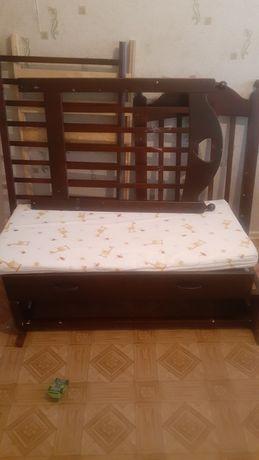 Детская кровать бесик