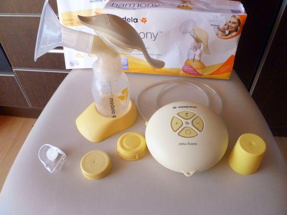 2 в 1 Електрическа и ръчна помпа Медела Swing + Подарък Уред за затопл