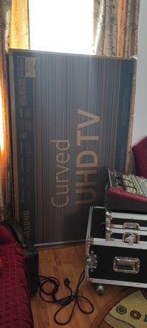 Smart tv 165cm , Samsung 4K Curbat model nou Cinema mode