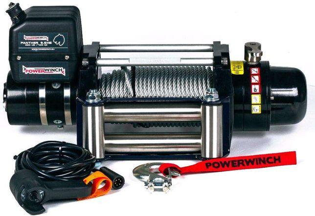 Troliu PowerWinch PANTHER 9,5 HS – un troliu de clasa Premium -NOU
