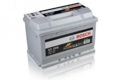 Acumulator auto(baterie) Bosch Silver 77Ah-livrare gratuita in Bacau!