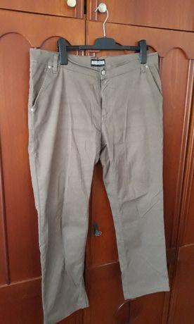 Pantaloni blugi, de vara, Lotus Jeans, maro, barbati