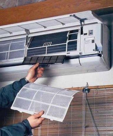 Ремонт и заправка кондиционеров любой сложности с мастером на дому