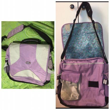 GAP чанта за лаптоп училище лилава