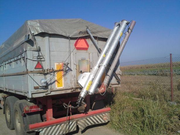 Snec hidraulic pentru descarcat din remorca , flexibil