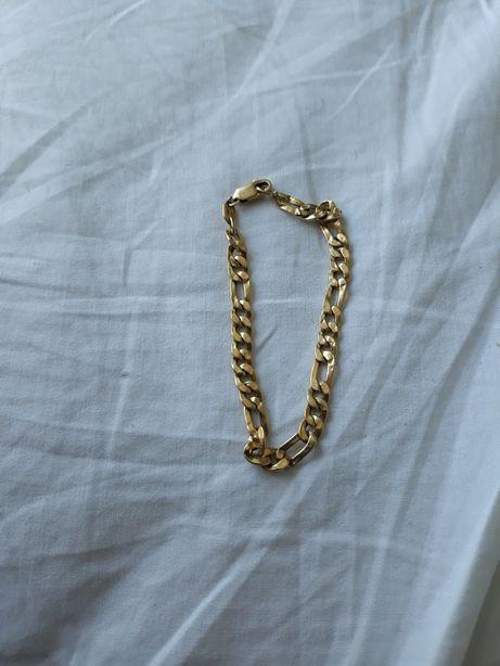 Brățară aur 18k 8grame 20cm marcat 750 stare perfectă!!