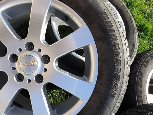 Jante R16  5x112 + anvelope iarna Bridgestone