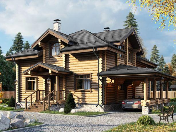 Бани,срубы,беседки,сервисное обслуживание деревянных строений,материал