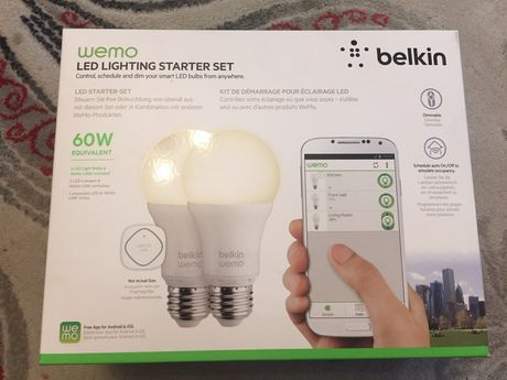 Set Becuri Inteligente Belkin WEMO