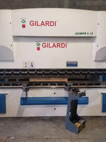 Машина за огъване на ламарина италианска CNC Gilardi Olympia 3.12