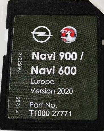 Opel NAVI 900/600 sd card Навигация 2020гд сд карта Vauxhall Chevrolet