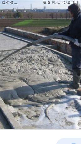 утепления крышу пенобетоном и полистиролбетоном