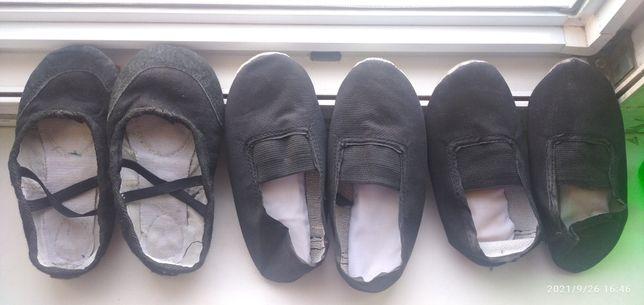 Чешки детские черные