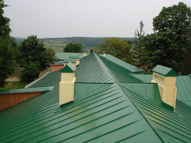 Service acoperisuri montaj tigla metalică hidroizolati tigla ceramica