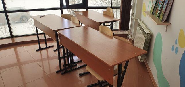 Продам ученические парты и стулья