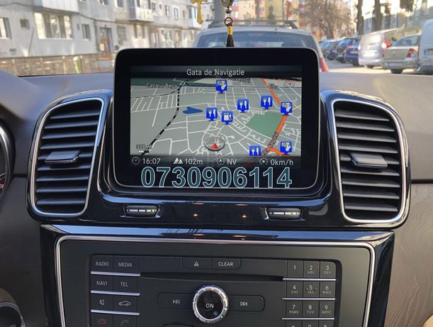 Mercedes Garmin® MAP PILOT V14 Navi SD Card EU + Ro 2020 C CLA GLC GLE