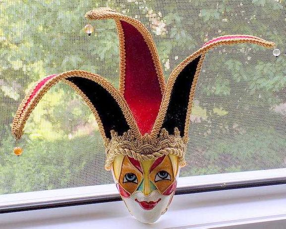 Masca decorativa Joker / Plata avans / T. gratuit posta
