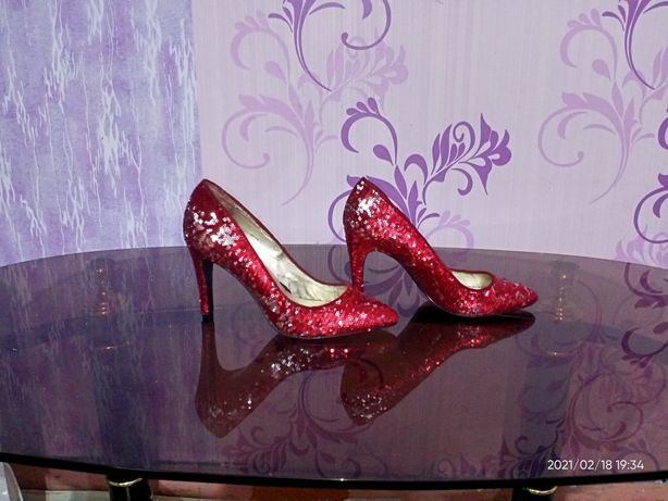 Туфельки Красивые MANGO 37-38 размер.