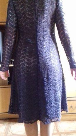 Платье-двойка нарядное эксклюзивное, почти новое